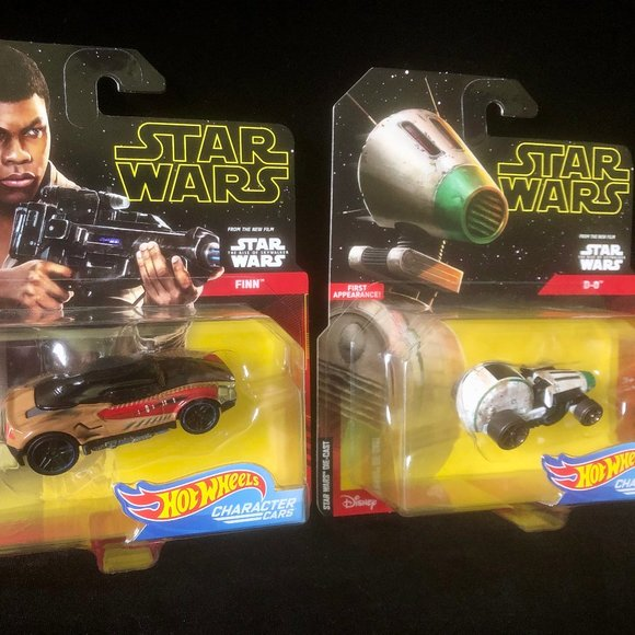 Hot Wheels Toys Star Wars Rise Of Skywalker 2ct Cars Poshmark